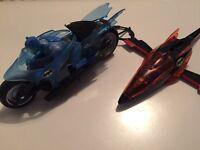 Batman bat wing and bat bike