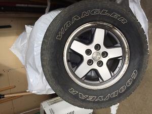 5 Jeep Rims & Tires