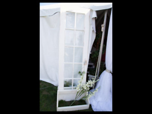 Solid French door with stand! Great for wedding!