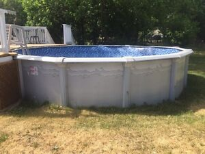 18' above ground pool for sale