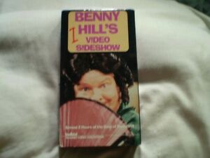 vhs benny hill/video s!deshow (anglais) 115 minute