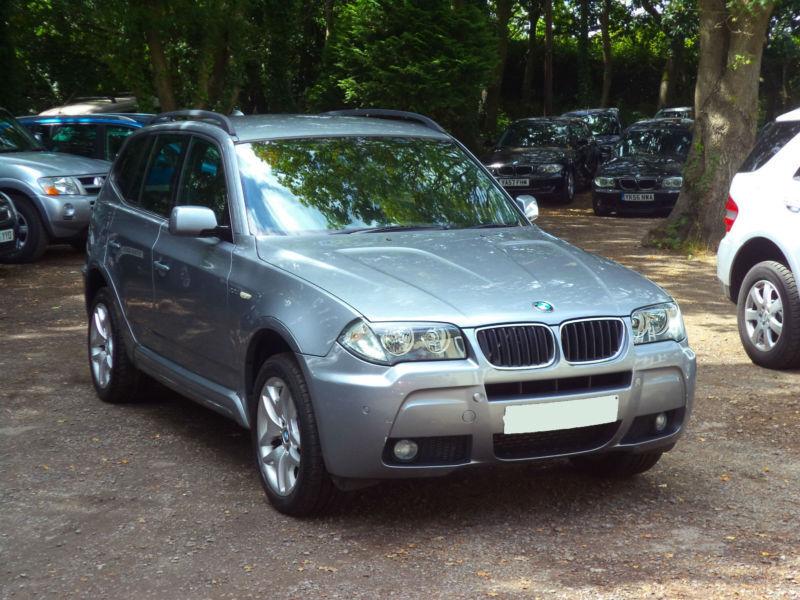 BMW X3 2.0d 2007MY M Sport 8