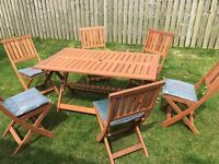 Garden Set Table and Chairs