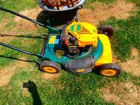 "lawnmower yard-man.MTD 6,5hp,21""cut autostart self propell mulc"""