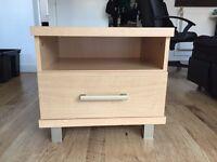 Bedside cabinet drawer table x 2
