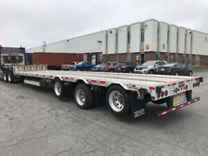 2016 51ft step deck Lode King SDG51-3 trailer