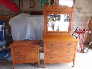 Antique Dresser, Maple