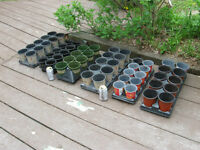 POTS FOR SPLITTING OUT PERENNIALS / TRANSPLANTS - REDUCED!!!!
