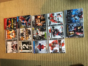 Lot of 14 PS3 games.
