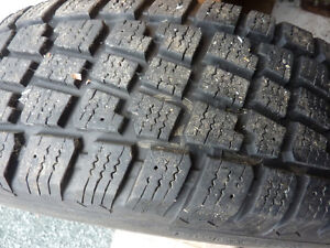 set of 4 205/70/r15 winter tires and rims