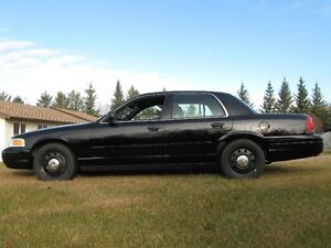 2010  and 2008 Ford Crown Victoria Police Package Sedan Strathcona County Edmonton Area image 1