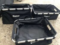 3 Outwell collapsible Storage boxes. Small, medium and large