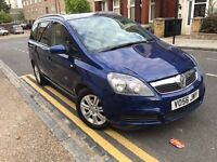 Vauxhall Zafira 1.8 i 16v Active 2007 7 SEATS+A/C+HISTORY+2 KEYS+IDEAL FAMILY CAR
