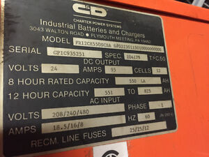 Industrial Battery Charger Kawartha Lakes Peterborough Area image 2