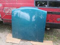 Green Ford Fox Body Mustang Hood Steel Original EX Condition