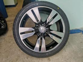 "18"" Genuine Mercedes alloys brand new tires"
