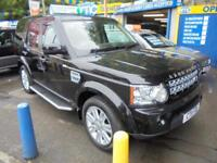 2011 11 LAND ROVER DISCOVERY 4 HSE 3.0 SDV6 AUTO IN BLACK # FULL CREAM LEATHER