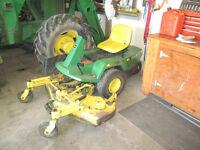John Deere 525 48'' Front mount zero turn mower.