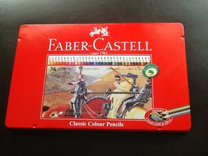 Crayons de couleurs de Qualité Faber-Castell 36