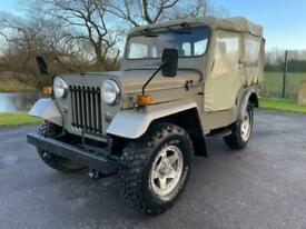 image for MITSUBISHI JEEP J54 2.7 DIESEL ON & OFF ROAD 4X4 SOFT TOP * WILLYS STYLE