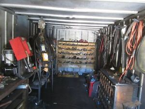 International 20' Van  Shop Truck & Misc. Items