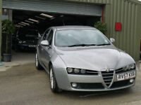 Alfa Romeo 159 1.9JTDM 16v Turismo - 73000 Miles - MOT February 2017