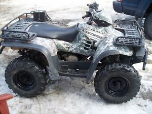 reduced -2003 sportsman 500 camo 4x4