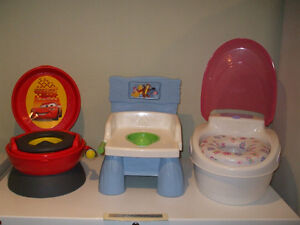 Toilette Flash mc queen, Winnie the pooh 20$ ch. 450-994-2242