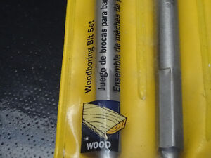 spade bit set, tapered tap, cylindrical rotary file, hole saw... Cornwall Ontario image 3