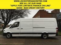 2014 64 MERCEDES-BENZ SPRINTER 2.1 313CDI LWB HIGH ROOF 129BHP NEW SHAPE. 95K. F