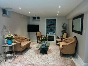 Furnished or unfurnshed basement apartment in Richmond Hill