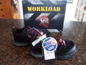 Workload Women's Chesapeake Steel Toe Safety Shoes (new)