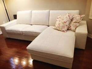 SECTIONAL SOFA (LEATHER)