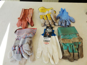6 Pairs of Garden or Work Gloves - Men or Women. $4.00 for All Kitchener / Waterloo Kitchener Area image 1