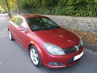 2006 '55' VAUXHALL ASTRA 1.7CDTi SRi SPORTS HATCH IN RARE MET RED