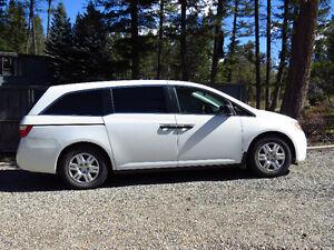 2012 Honda Odyssey LX Minivan, Van