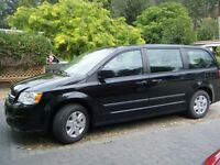 2011 Dodge Grand Caravan Black Minivan, Van