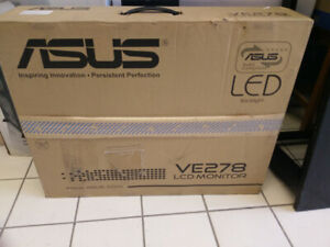 """ASUS 27"""" VE278 LCD Monitor with LED Backlight (Brand New)"""