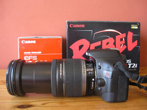 Canon EOS Rebel T2i 18 MP Digital Camera  with EF 18-200mm lens