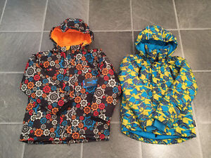 fall-winter-spring jackets, snowpants for boy 5 - 10 yrs old