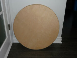 """Handmade 30"""" Solid wood Round Table top"""