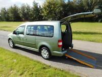2010 Volkswagen Caddy Maxi Life 1.9 Tdi 7 SEATS Wheelchair Accessible Vehicle