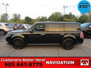 2017 Ford Flex Limited  AWD NAV ROOF LEATH CAM BS HS  P/GATE REV