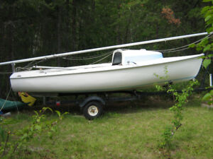 16' Tanzer Sailboat