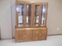 2 Piece Display Hutch