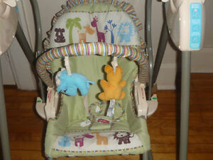 Cute 3 in 1 Infant Swing Toddler Rocking Chair