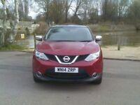 Nissan Qashqai Acenta Premium 1.2 DIG-T 115PS (red) 2014