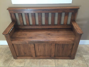 New Deacons Benches with storage Windsor Region Ontario image 1