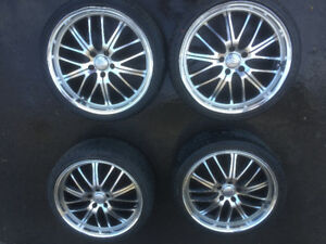 "19"" Rims and Tires"