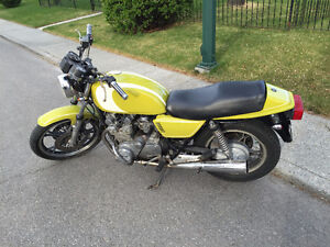 1982 Suzuki GS650G Shaft drive
